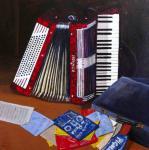 Arrètez ! Arrètez la musique !!!... ( 70 cm x 70 cm )